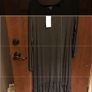 NWT SZ LG layering piece/dress